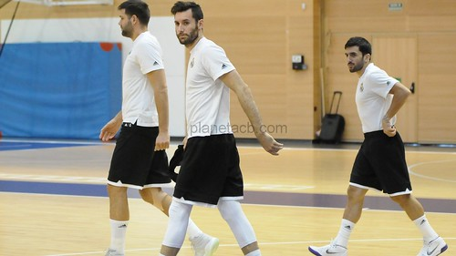 Entrenamiento previo J6 EUROLEAGUE - Maccabi FOX - Real Madrid (7-11-2018)