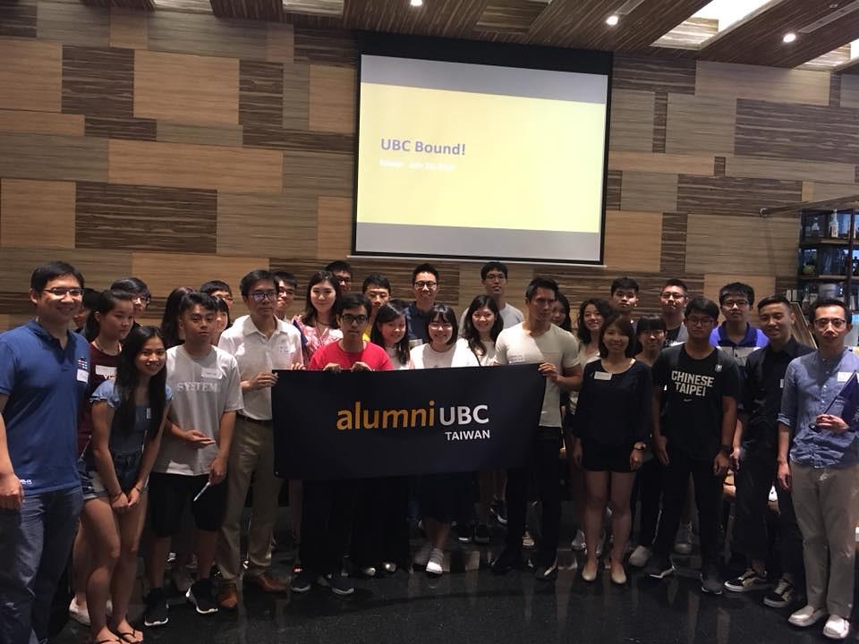 UBC Bound! Taiwan