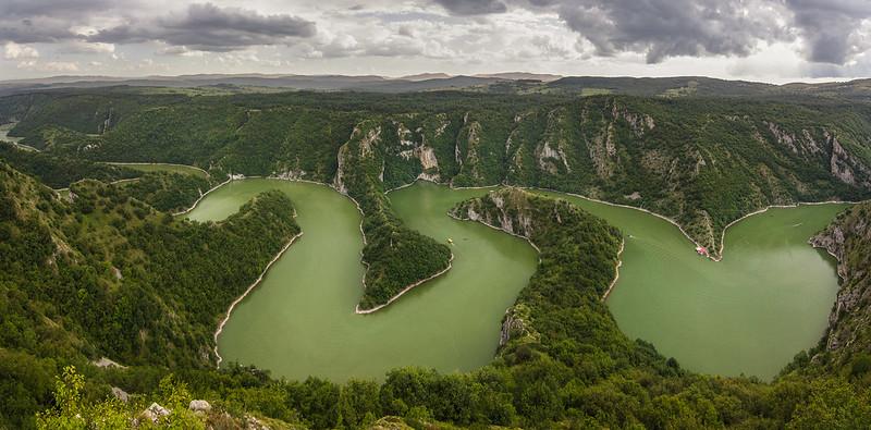Río Uvac, Serbia