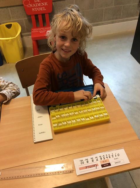 Aan de slag met de letterdoos in het 1e leerjaar
