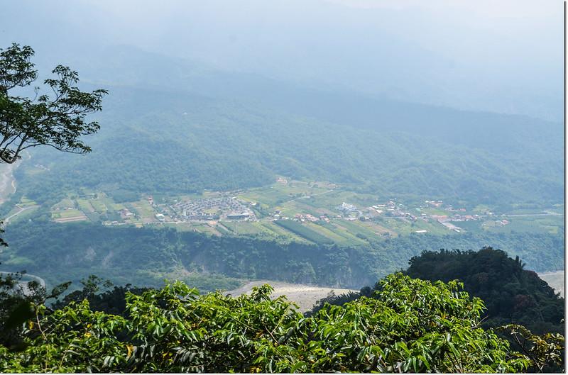小林山山頂俯瞰甲仙五里埔
