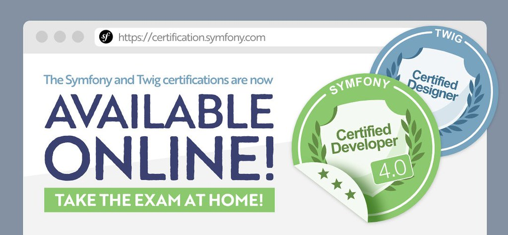 Introducing the new online Symfony Certification
