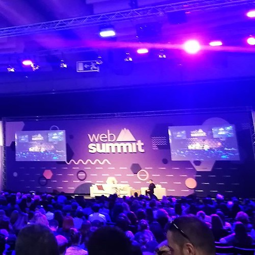 I've never felt more #alone than today on first day of a #websummit. It's about self promotion, and question and what do you do are just a courtesy. | by woss