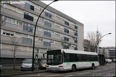 Heuliez Bus GX 317 - Voyages Quérard / TAN (Transports en commun de l'Agglomération Nantaise) n°2008