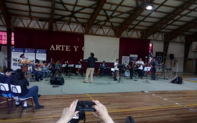 ISV en la Semana de la Cultura en Liceo San Conrado de Futrono