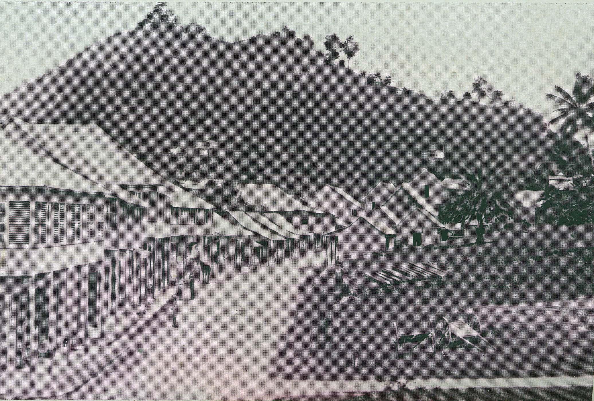 San Fernando, Trinidad, in the 1890s