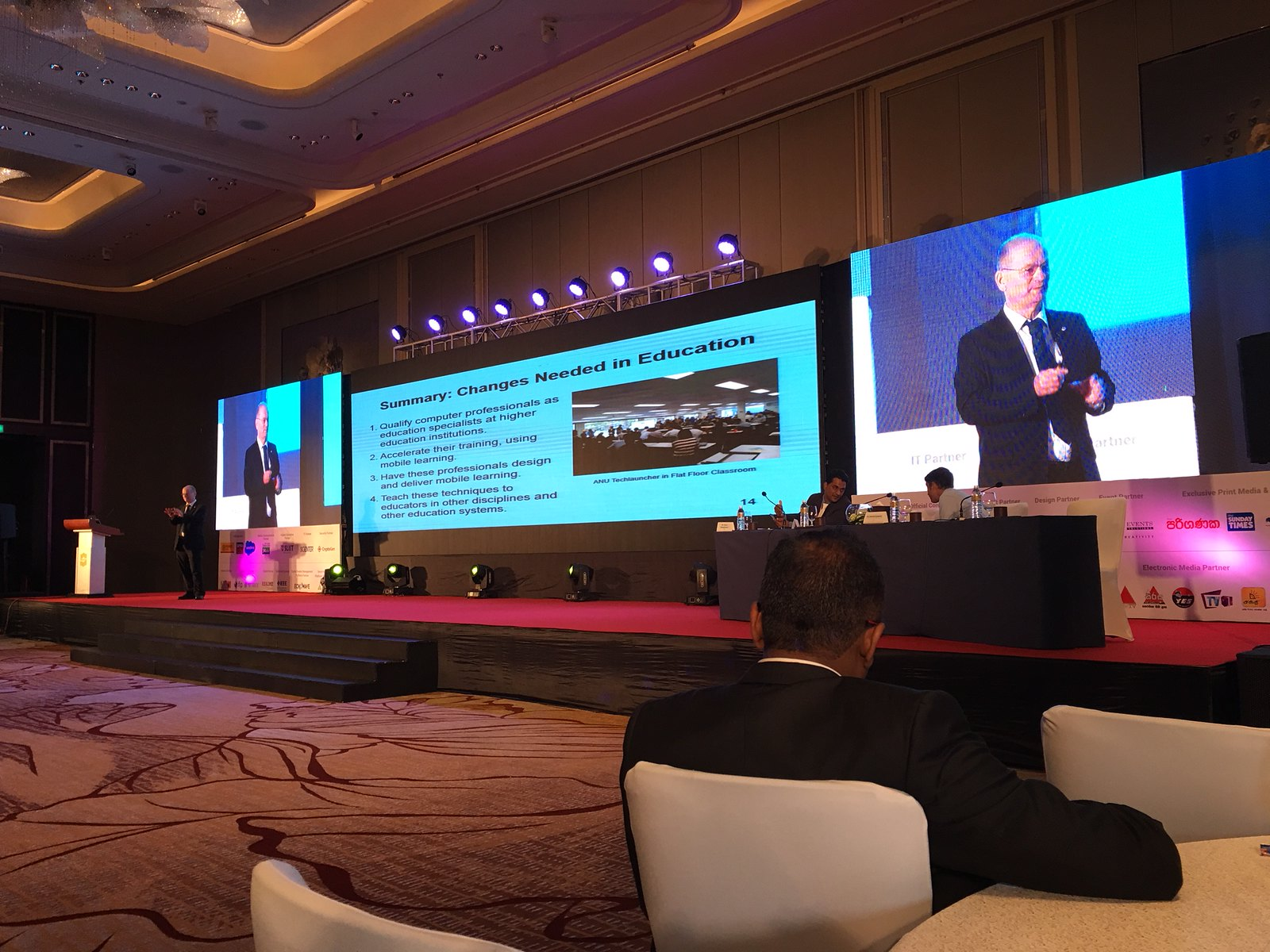 Tom Worthington Speaking at NICT 2018 in Colombo