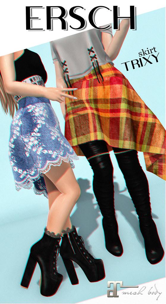 ERSCH – Trixy Skirt MAITREYA