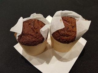 Afternoon tea - Apple muffins at Science Week QT Hotel