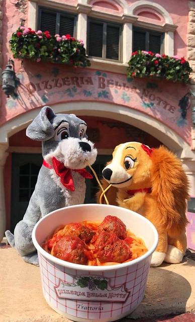 Spaghettis La Belle et le Clochard