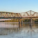 1936 Wabash Railroad Bridge Across The Missouri River At St. Charles Missouri by runarut