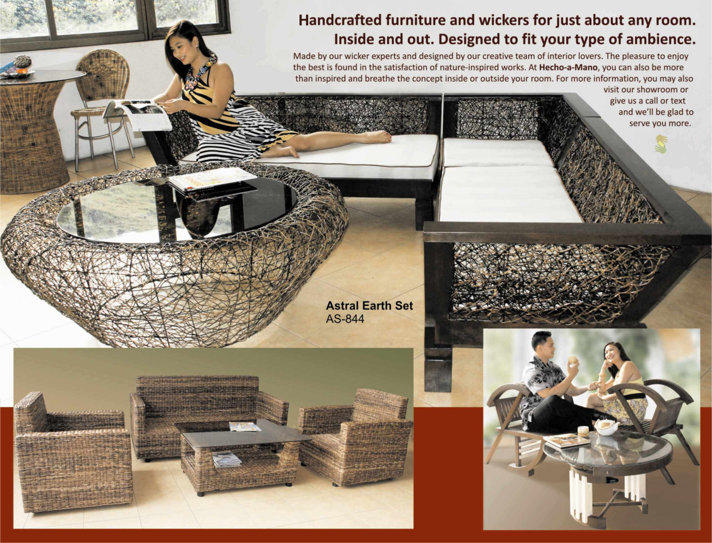 Handcrafted Furniture Brochure