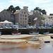 Le vieux port de Pornic à marée basse