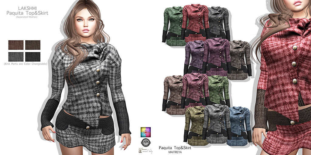 [LAKSHMI]Paquita Top&Skirt