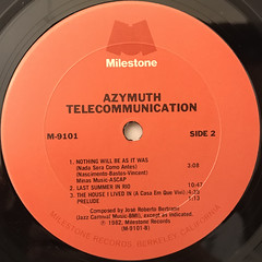 AZYMUTH:TELECOMMUNICATION(LABEL SIDE-B)