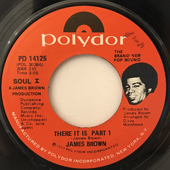 JAMES BROWN:THERE IT IS(LABEL SIDE-A)