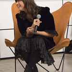 Tue, 02/10/2018 - 7:36am - Cat Power (Chan Marshall) in conversation with FUV's Carmel Holt, at the Sonos Listening Room in Soho. Photo by Gus Philippas/WFUV