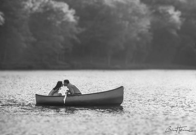 Boat Romance (ben heine photography)