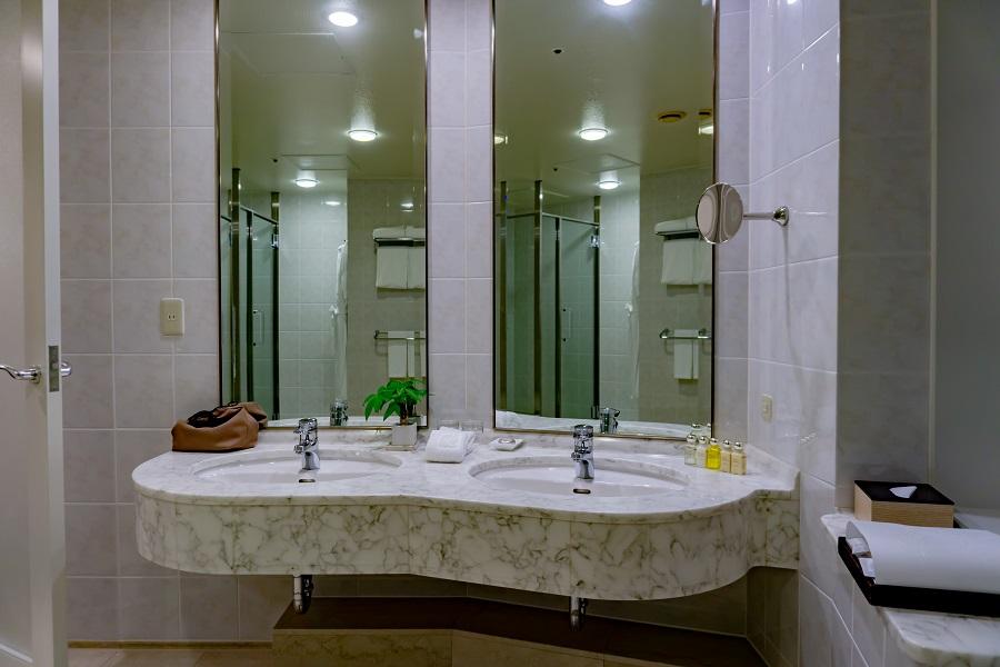 ザ・プリンスさくらタワー東京プレミアコーナーキング洗面台