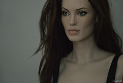 Angelina Jolie Mrs Smith life-size sculpture / mannequin
