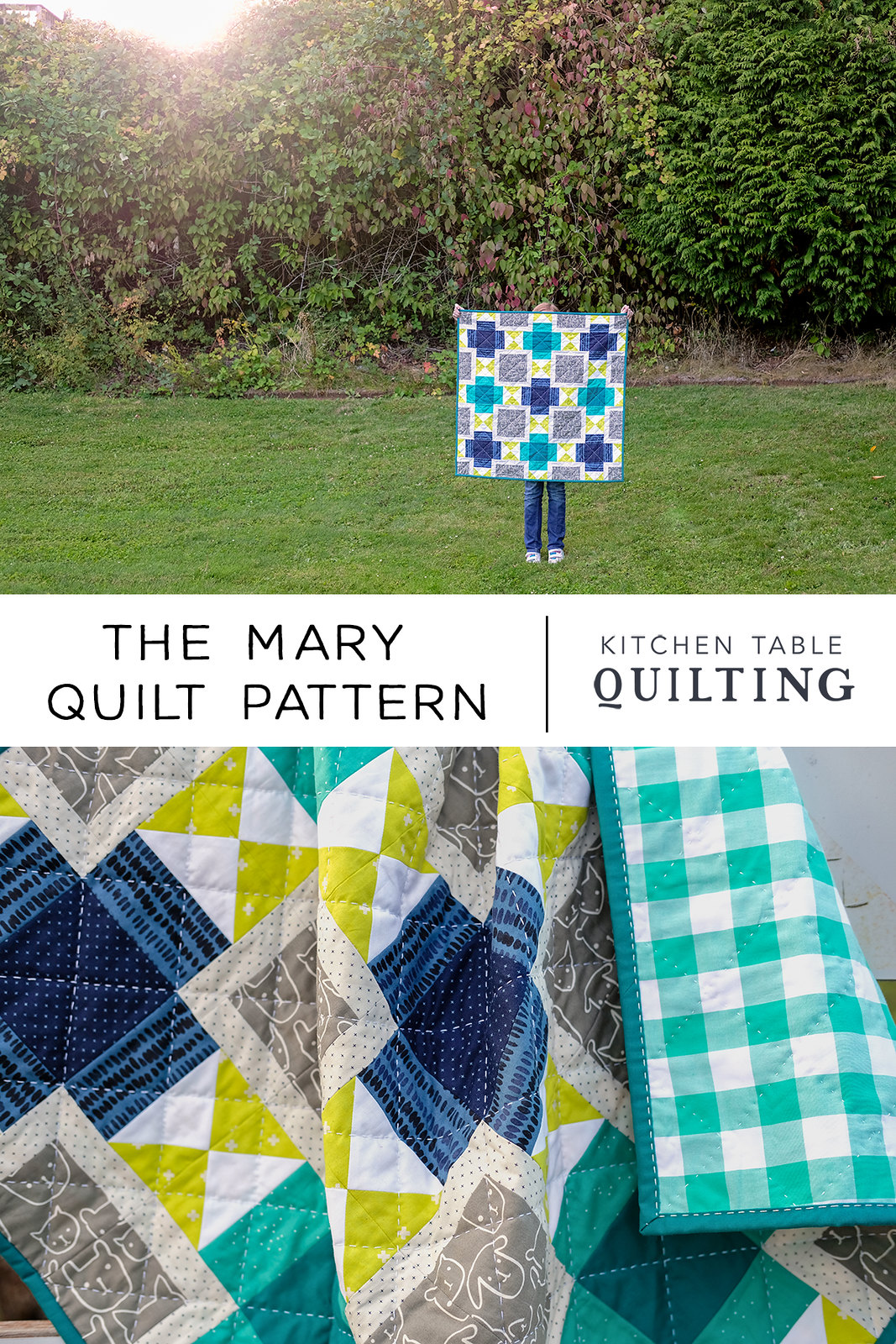 The Mary Quilt Pattern - Baby Size Version