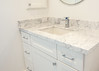 Bathroom in Carrara White Marble