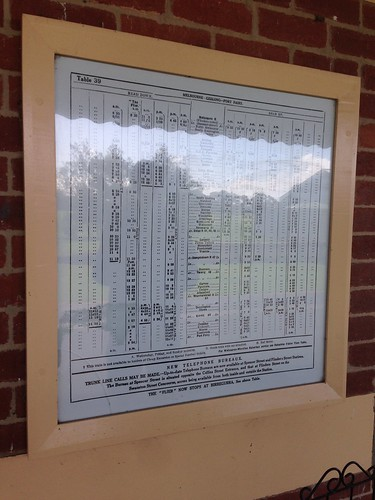 Reprinted timetable for abandoned Koroit Station