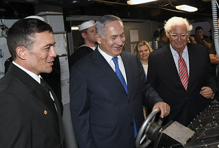 PM Netanyahu visits the USS ROSS (DDG 71) in Ashdod