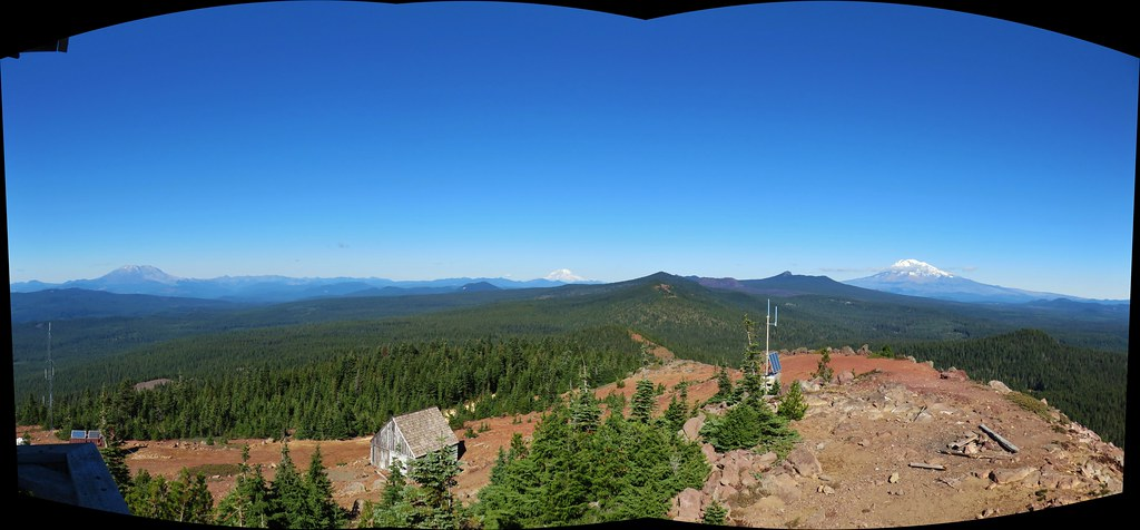 View from the Red Mountain Lookout