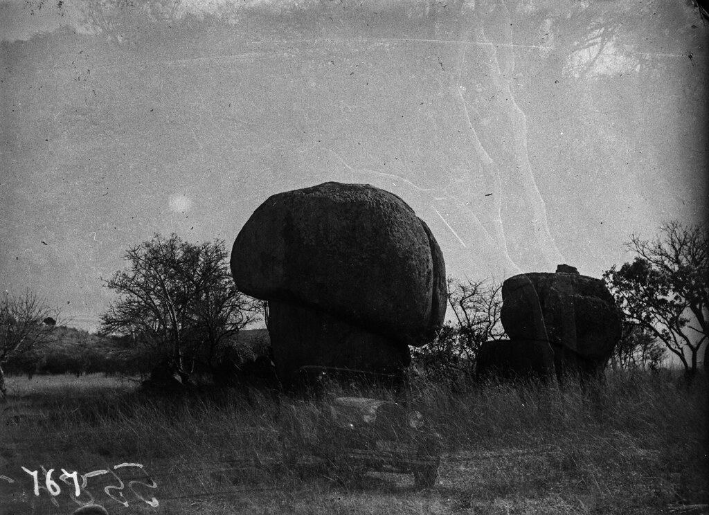 Окрестности Солсбери. Каменные грибы
