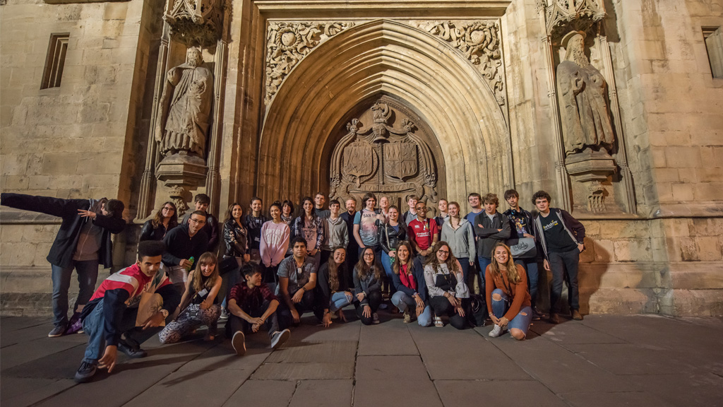 Students attend an autism summer school at Bath