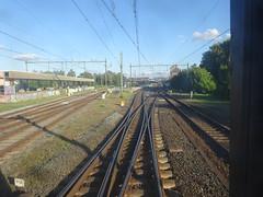 station Deventer achteruit de D-trein naar Amsterdam (ook)