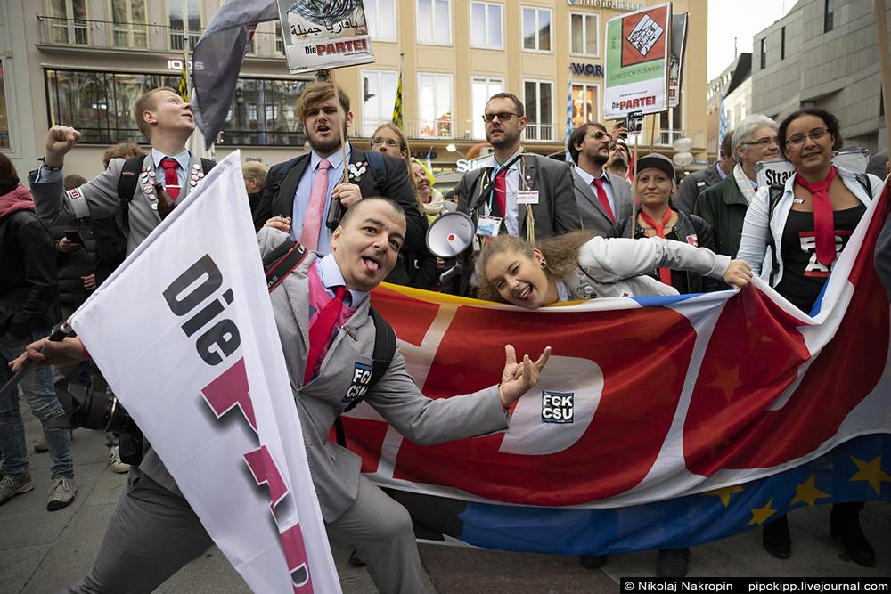 Левый марш. Легенда немецкой политики Грегор Гизи в Мюнхене.
