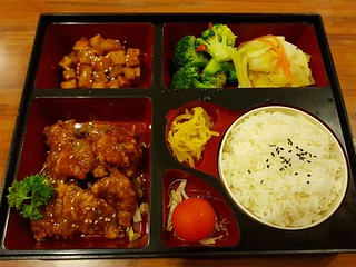 BBQ Pork Bento Box at Kuan Yin Southport