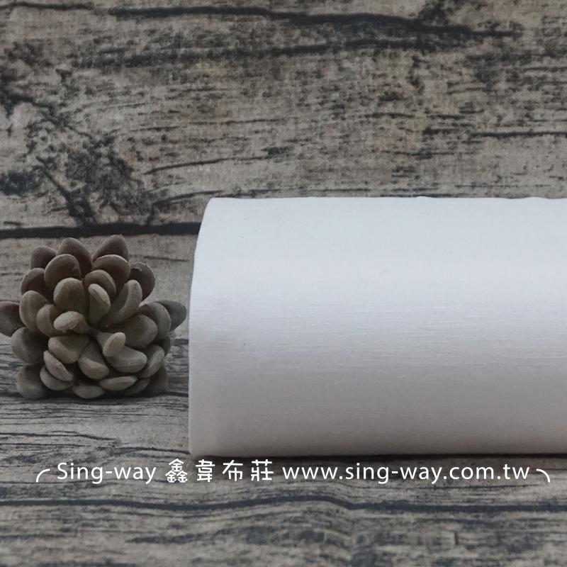 白色棉麻 素面棉麻混紡 簡約無印 佈置裝飾 束口袋 提袋 手工藝DIy拼布布料 FA790063