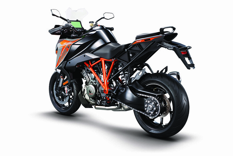 KTM 1290 Super Duke GT MY19 Black Rear-L