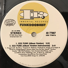 FUNKDOOBIEST:XXX FUNK(LABEL SIDE-A)