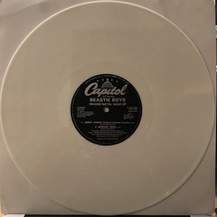 BEASTIE BOYS:FROZEN METAL HEAD(SPECIAL LIMITED EDITION WHITE VINYL E.P.)(RECORD SIDE-B)