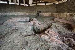 00721 Baptistère paléochrétien de Port-Bail