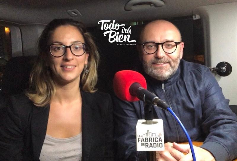 Foto 2018 10 24 Mila Martinez Marketing OnLine Todo ira Bien Paco Cremades La Fabrica de Radio