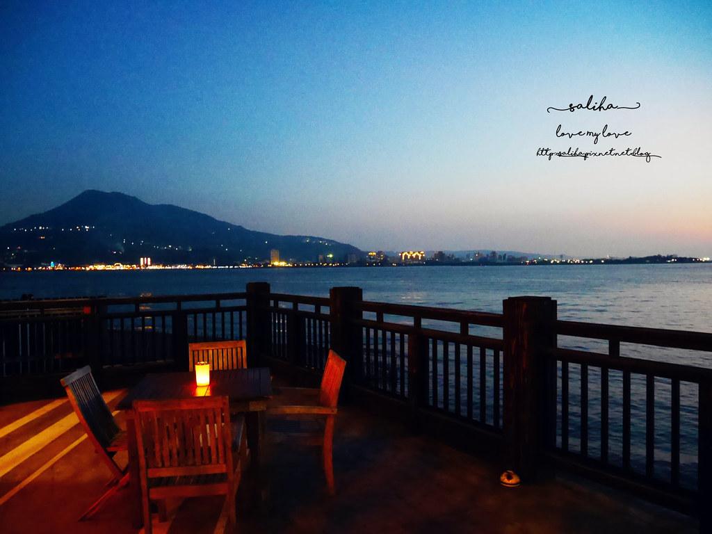 新北淡水老街夜景夕陽景觀餐廳咖啡館推薦la villa cafe (8)
