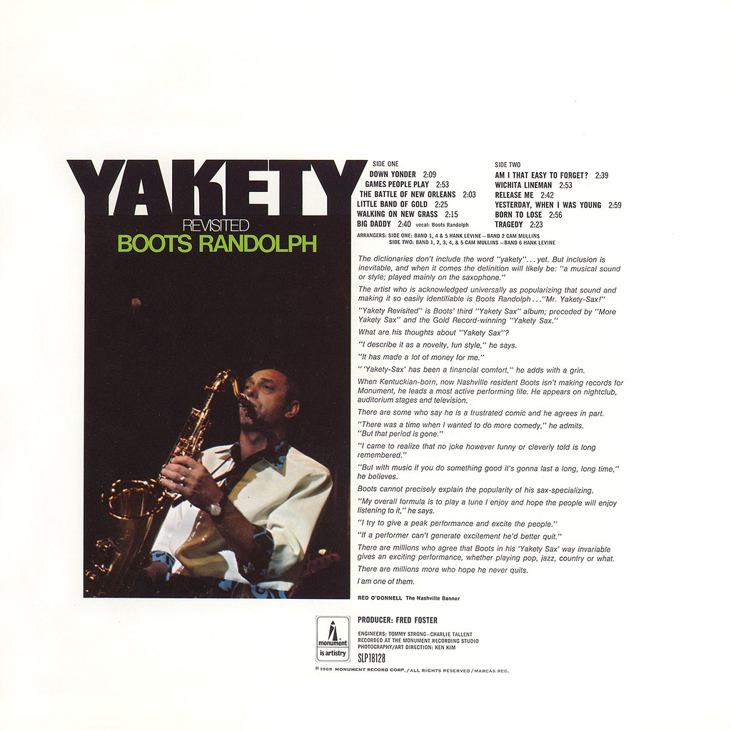 Boots Randolph - Yakety Revisited