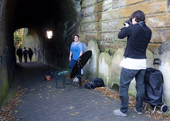 Sue Mannings ADITL Photoshoot at Liverpool anglican Cathedral