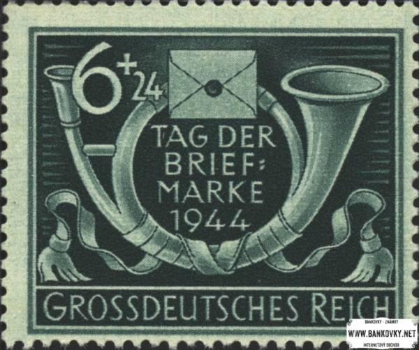 Známka Nemecká ríša 1944 Deň známky