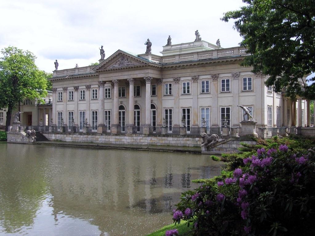 łazienki Królewskie Pałac Na Wodzie łazienki Królewskie