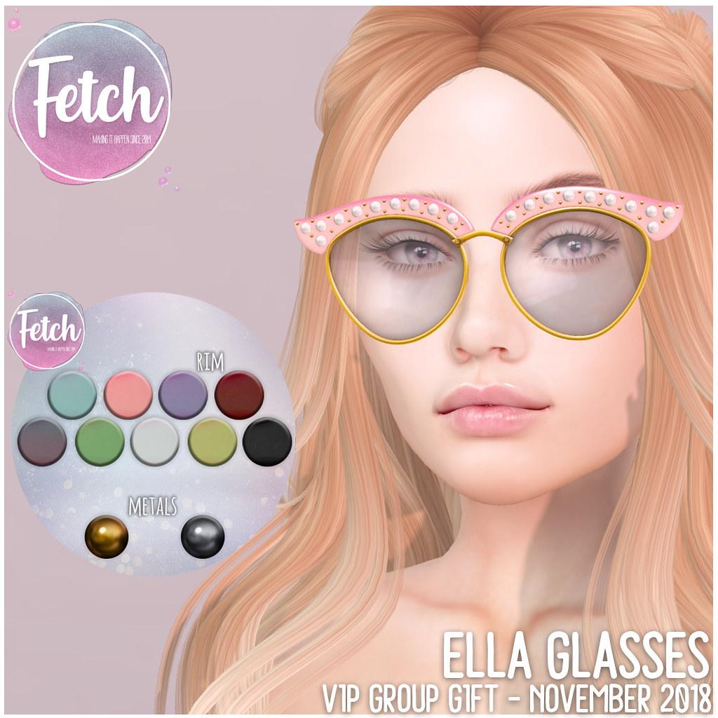[Fetch] Ella Glasses – November 2018 VIP Gift