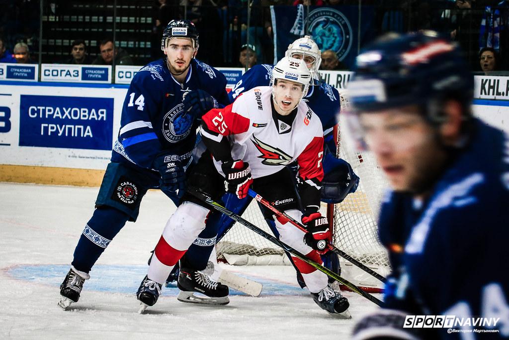 HC Dinamo-Minsk 1:2 HC Avangard. 30/09/2018