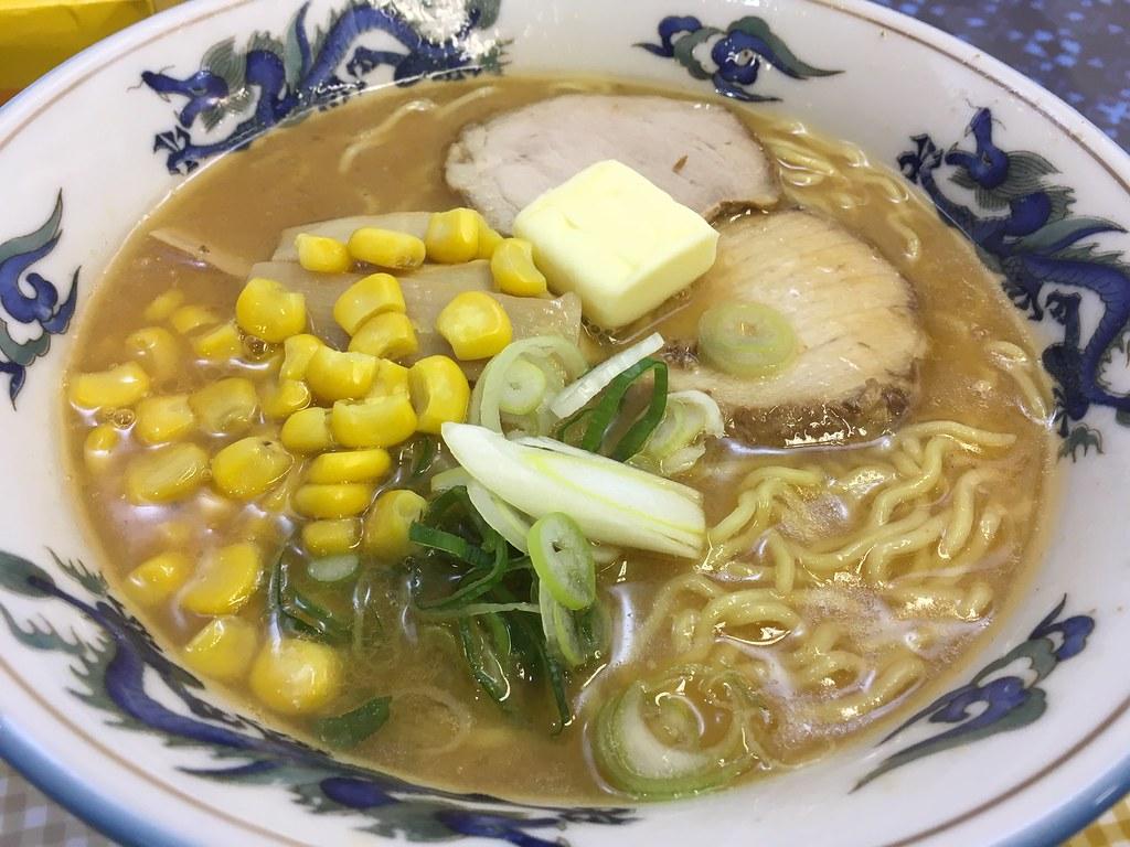 味噌コーンバターラーメン@福屋の北海道の物産展