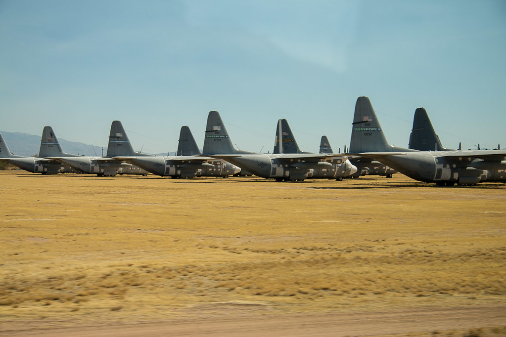 Aircraft Boneyard Tour