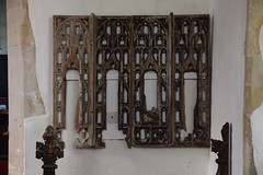 rood screen tracery (15th Century)